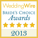 Winner of the Brides Choice Awards 2013