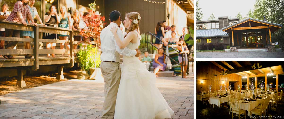 Rock Springs Wedding Venue Collage Lodge And Dining Hall